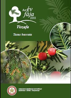 Tiszafa _kiadvány címlapja