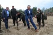 Erdősítés Bugacon - Miniszteri látogatás a KEFAG Zrt.-nél - Bugac - 2019.04.10. - Fotók: Nagy László/Erdészeti Lapok