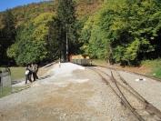 Az erdőfeltárási szakosztály terepi ülése az Egererdő Zrt-nél 2011.10.13-14.