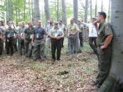 OEE 143. Vándorgyűlés Északerdő Zrt. képek - 2. program - Szálaló erdő
