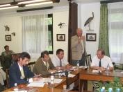 Mezőgazdasági bizottság a NEFAG Zrt.-nél