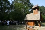 Szent Hubertusz kápolna avatás a Miklósvári-tónál - 2012.09.22. Fotók:Antli István, Göbölös Péter