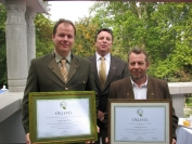 A 2012. év ökoturisztikai díj átadója