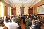 Küldöttközgyűlés az Erdész Székházban, 2013.11.28. Fotó:Greguss László Géza