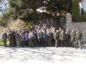 A soproni hegyvidéken jártak a kisalföldi erdészek - Fotók: OEE Győri Erdőgazdasági HCs