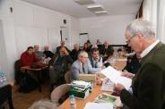 Három szakosztály együttes ülése 2009.11.26. Foto: Greguss László Géza