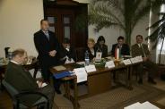 OEE évzáró sajtótájékoztató, 2009.12.14.  Foto: Greguss László Géza