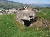 Egy bunker az Árpád-vonalból