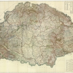 A magyar állam összes erdőségeinek átnézeti térképe –1896 - Reprint